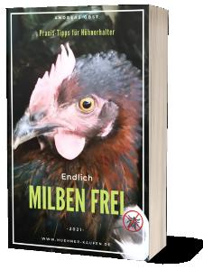 Rote Vogelmilbe bekämpfen Hühner