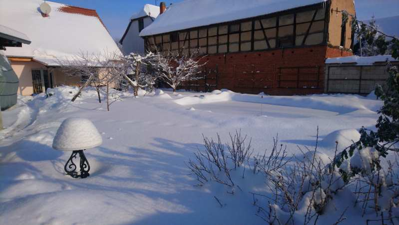 Tränkenwärmer Hühnerstall Winter